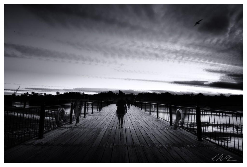 Wivenhoe Pier timestack