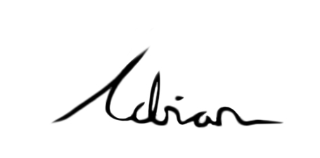 adrian signature