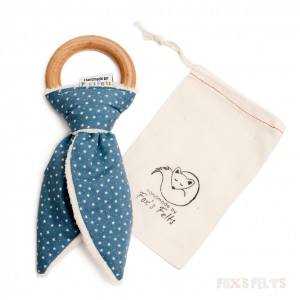 teether and bag product photograph