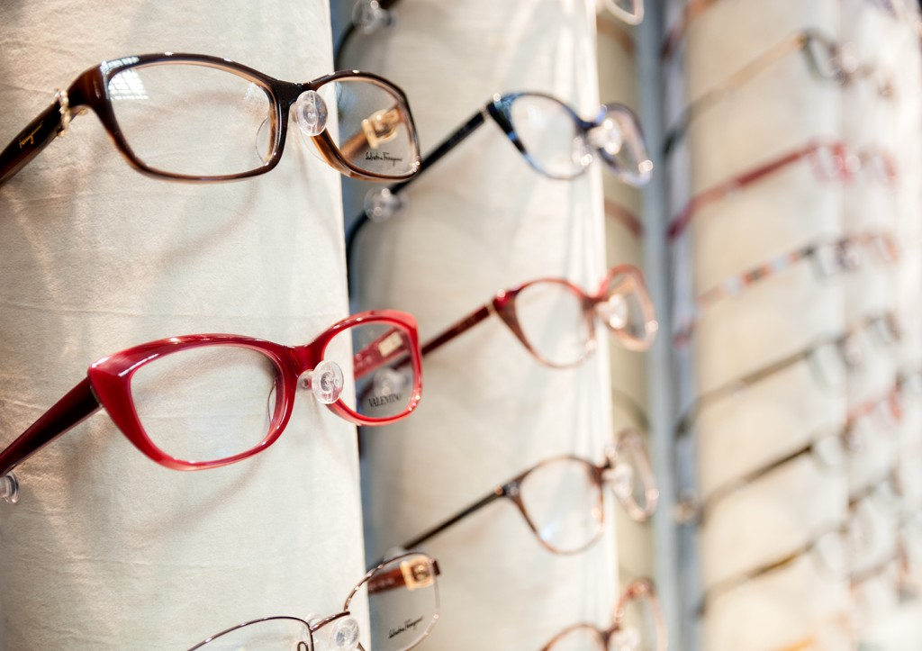 spectacles on display